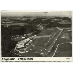 Austria: Flugplatz Freistadt / Aerial Photo (Vintage RPPC 1968)