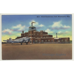Minneapolis / USA: Wold Chamberlain Field / Airport (Vintage...