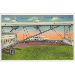 Coconut Grove, Miami / USA: Pan American Airport (Vintage...