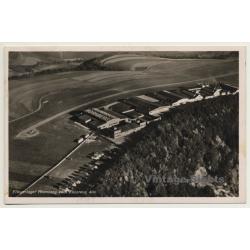 Germany: Fliegerlager Hornberg / Airport - Aerial View...