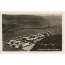 Germany: Fliegerlager Hornberg Vom Flugzeug Aus / Airport...