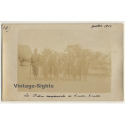 Conge-Belge: La Police Territoriale à Kanda-Kanda (Vintage...