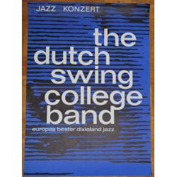 Dutch Swing College Band: Europas Bester Dixieland Jazz - Vintage Concert Poster