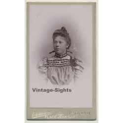Luzzatto / Dunkerque: Belgian Woman With Victorian Blouse...