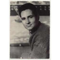Freddy Quinn / Polydor (Vintage Fan Postcard ~1950s)