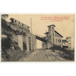 Barcelona: Tibidabo - Apeadora Del Funicular Y Mentora Alsina...