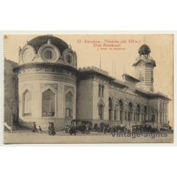 Barcelona: Tibidabo - Gran Restaurant *33 (Vintage Postcard)