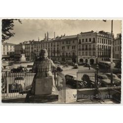 Perpignan / France: Place Arago - Hotel Regina (Vintage RPPC...