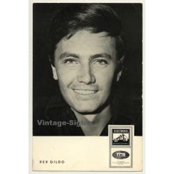 Rex Gildo / EMI Electrola- Schlager (Vintage Fan Postcard ~1960s)