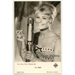 Vivi Bach / UFA Film - Schlager (Vintage Fan RPPC ~1960s)