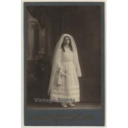 Marc Galuzzi: Young Bridesmaid / Robe & Veil (Vintage Cabinet...