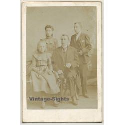 A. Crispiels / Bruxelles: Family Portrait / Victorian Era...