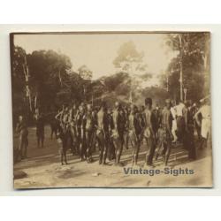 Congo-Belge: Dance Of Indigenous Tribe *4 / Wananda (Vintage...