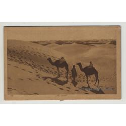 Lehnert & Landrock: Au Désert / Camels In The Desert *172