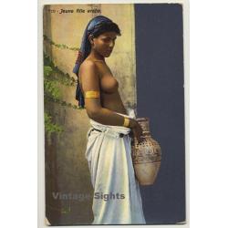 Lehnert & Landrock: Jeune Fille Arabe - 710 / Risqué (Vintage...