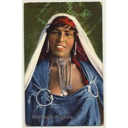 Lehnert & Landrock: Bédouine - 594 (Vintage Postcard...