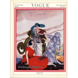 Vogue Cover: March 15th, 1921 (Print From 1975 Poster Book...