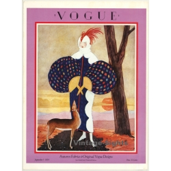 Vogue Cover: September 1st, 1924 (Print From 1975 Poster Book...