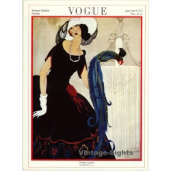 Vogue Cover: June 1st, 1921 (Print From 1975 Poster Book 38.5...