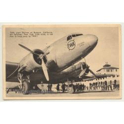 TWA Giant Skyliner - Lindbergh Line (Vintage Postcard Aviation...