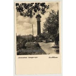Wangerooge / Germany: Nordseebad - Leuchtturm (Vintage RPPC)