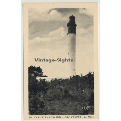 Bassin D'Arcachon - Cap Ferret / France: Lighthouse (Vintage...