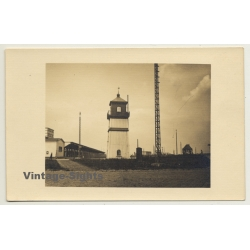 Unidentified Lighthouse? - Tower - Scandinavia? (Vintage RPPC)