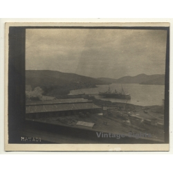 Matadi / Congo Belge: View Onto Port - Railways - Ship...