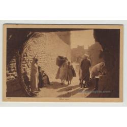 Lehnert & Landrock: Une Rue / Arabian Street Scene *181