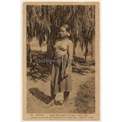 Annam / Vietnam: Femme Moïs / Asian Nude - Ethnic (Vintage...