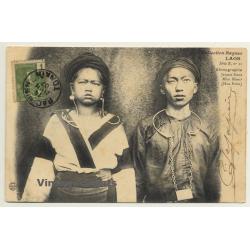 Laos / Indochina: Jeuns Gens - Méos Blans - Hua Pahn (Vintage...