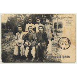 Laos / Indochina: Mandarins, Laotiens Aux Hua Pahn (Vintage PC...