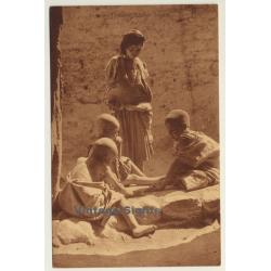 Magrheb: Enfants Arabes Jouant (Vintage Postcard)