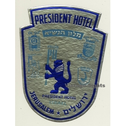 Jerusalem / Israel: President Hotel - מלון הנשיא (Vintage...