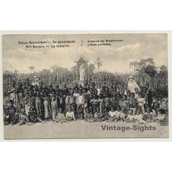 Makanza - New Antwerp / Congo Belge: Mission - Indigenous Kids...