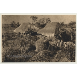 Congo Belge: Poor Chapel Of Shindaika / Don Bosco (Vintage PC...