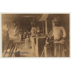Boudewijnstad - Moba / Congo Belge: Blacksmiths At Work...