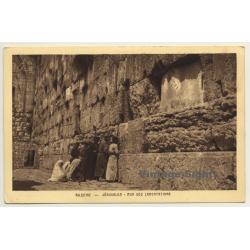 Jerusalem / Israel: Le Mur Des Lamentations *2 / Wailing Wall...