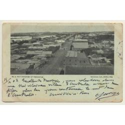Australia: Part Panorama Of Fremantle / High Street (Vintage...
