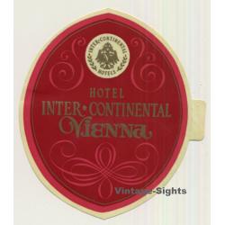 Vienna / Austria: Hotel Inter - Continental (Vintage Self...