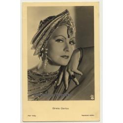 Great Garbo - Ross Verlag - MGM (Vintage RPPC ~1930s)