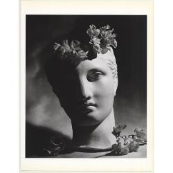 Horst P. Horst: Classical Bust & Flowers 1988 (Sheet 1992:...