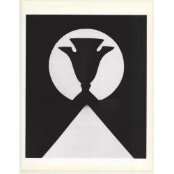 Horst P. Horst: Giacometti Vase 1989 (Sheet-Fed Gravure 1992:...