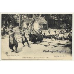 Luang Prabang / Laos: Danseurs Et Orchestre Du Roi (Vintage PC...