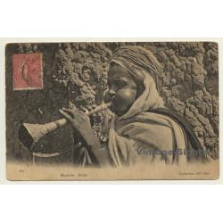 Musicien Arabe / Nzumari - Mizmar (Vintage PC 1904 Ethnic)