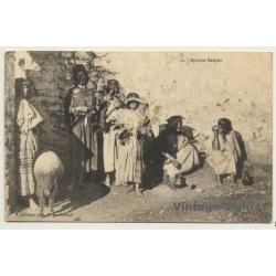 Algeria: Femmes Kabyles / Ethnic (Vintage PC ~1900s)