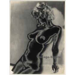 Experimental Erotic Art: Torso I (Vintage Photo 1980s)