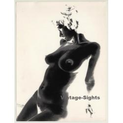 Experimental Erotic Art: Torso II (Vintage Photo 1980s)