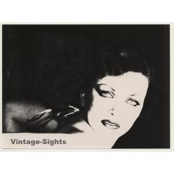 Erotic Photo Art: Female Portrait I (Vintage Photo 1980s)