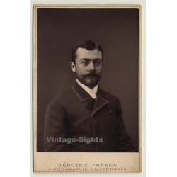 Géruzet Frères / Bruxelles: Portrait L. Weislenbruch / Beard...